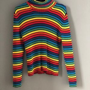 Tommy Hilfiger vintage rainbow sweater